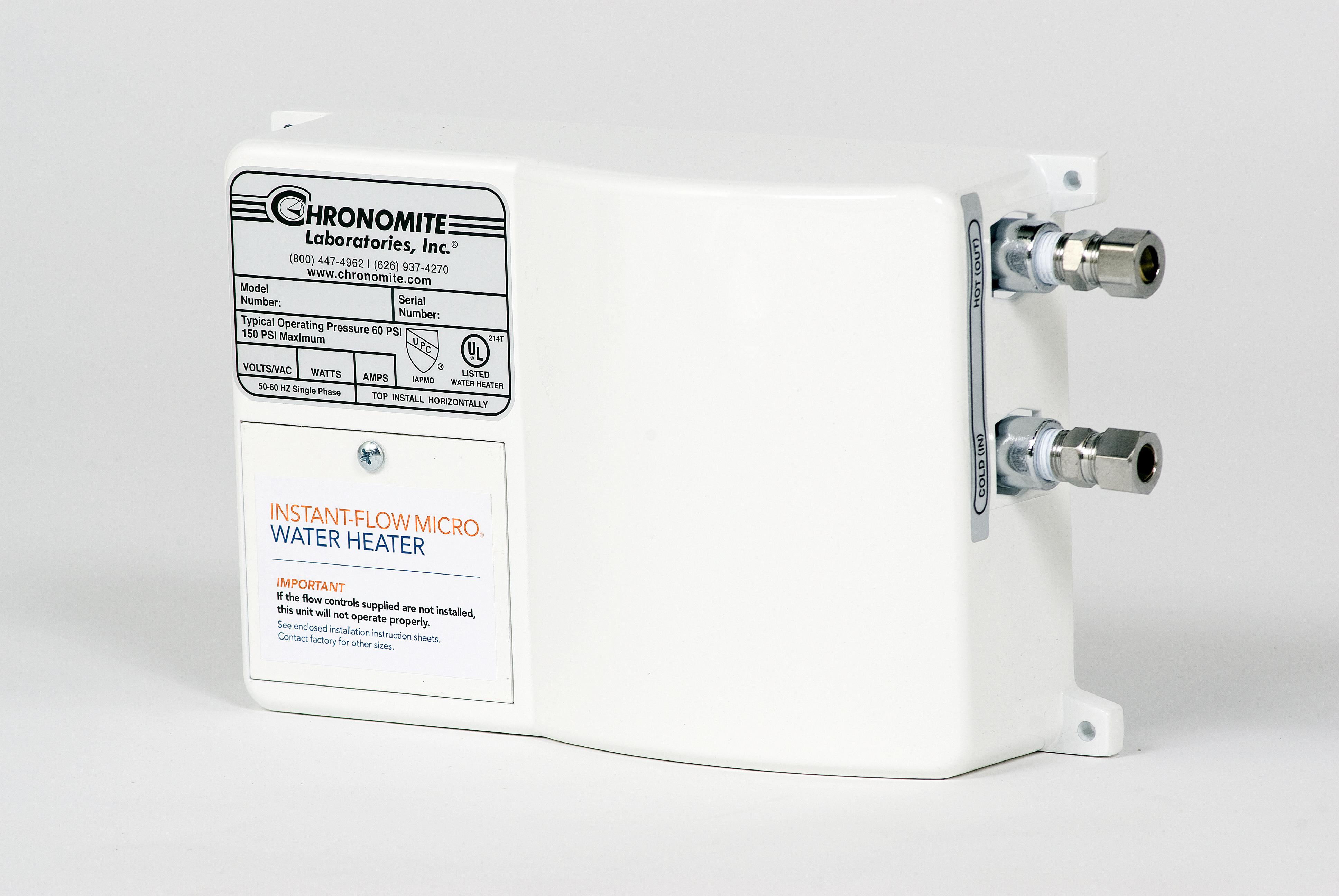 Instant Flow 174 Micro Water Heater Chronomite