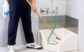 Mop-cleaning-area