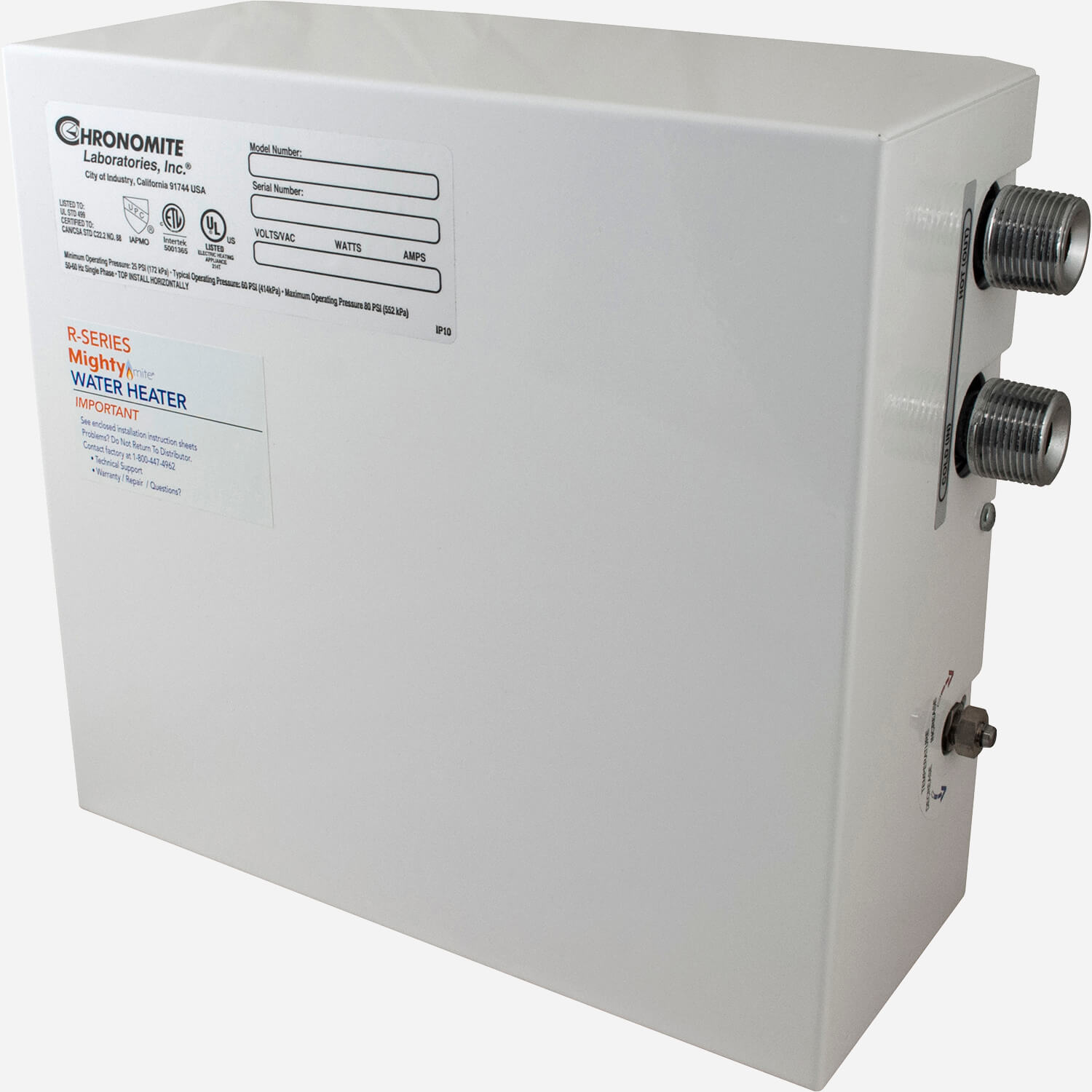 MIGHTY-mite® Single Phase Large Capacity Tankless Water Heater