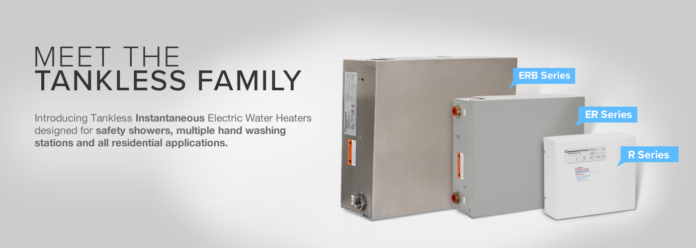 electric tankless water heaters large capacity