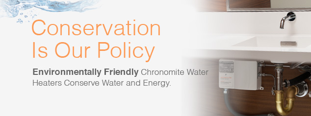 Energy Efficient Water Heaters Conservation Policy